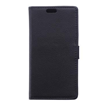 Microsoft Lumia 950 Musta Lompakko Suojakotelo