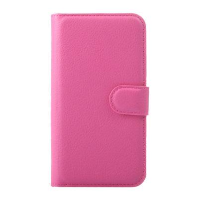 Huawei Y5 Lompakkokotelo Vaaleanpunainen