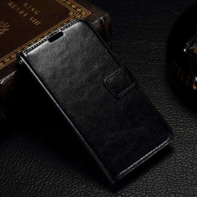 Microsoft Lumia 550 Kotelo Musta Lompakko