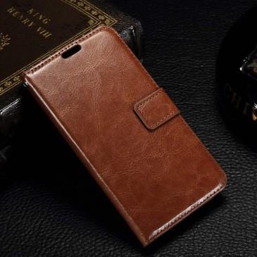 Microsoft Lumia 550 Kotelo Ruskea Lompakko