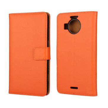 Microsoft Lumia 950 XL Nahkakotelo Oranssi