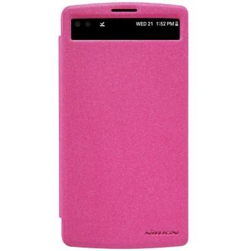 LG V10 Suojakuori Nillkin Sparkle Pinkki