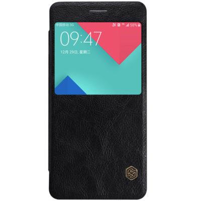 Samsung Galaxy A5 (2016) Kotelo Nillkin Qin Musta