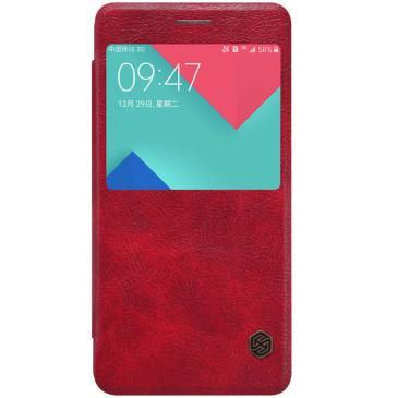 Samsung Galaxy A5 (2016) Kotelo Nillkin Qin Punainen
