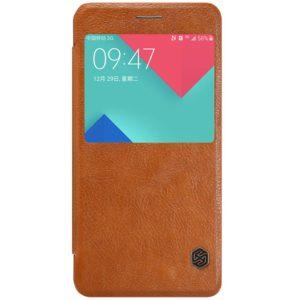 Samsung Galaxy A5 (2016) Kotelo Nillkin Qin Ruskea