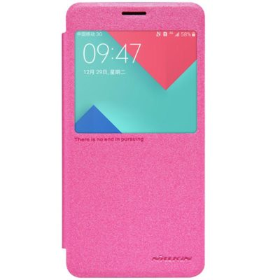 Samsung Galaxy A5 (2016) Kotelo Sparkle Pinkki