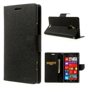Nokia Lumia 1520 Suojakotelo Fancy Musta