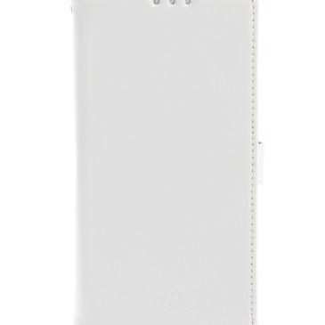 Sony Xperia Z5 Compact Valkoinen Insmat Nahkakotelo