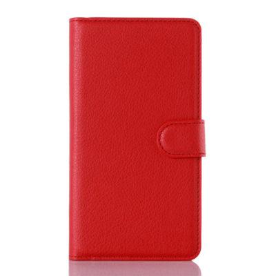 Huawei Honor 5X Punainen Lompakko Suojakotelo