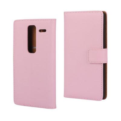 LG Zero Suojakotelo Vaaleanpunainen Nahka