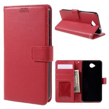 Microsoft Lumia 650 Punainen Lompakkokotelo