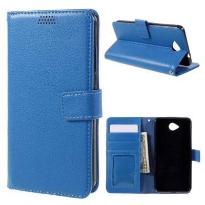 Microsoft Lumia 650 Sininen Lompakkokotelo