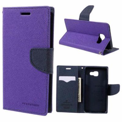 Samsung Galaxy A5 (2016) Suojakotelo Fancy Violetti