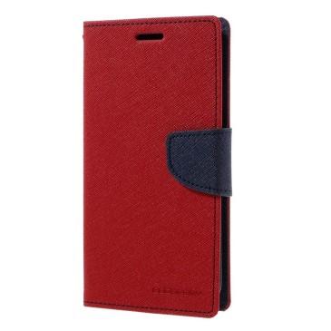 Samsung Galaxy S7 Edge Kotelo Fancy Punainen