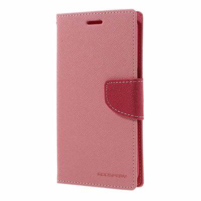 Samsung Galaxy S7 Edge Kotelo Fancy Vaaleanpunainen