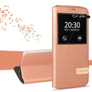 Samsung Galaxy S7 Edge Kotelo USAMS Ruusukulta