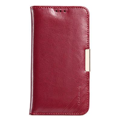 Samsung Galaxy S7 Nahkakotelo KLD Royale II Punainen
