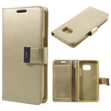 Samsung Galaxy S7 Suojakotelo Rich Diary Kulta