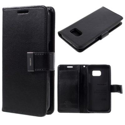 Samsung Galaxy S7 Suojakotelo Rich Diary Musta