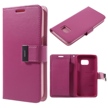 Samsung Galaxy S7 Suojakotelo Rich Diary Pinkki