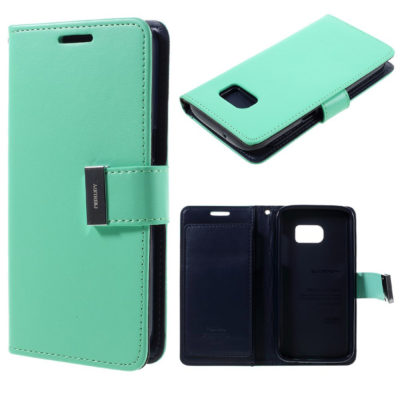 Samsung Galaxy S7 Suojakotelo Rich Diary Syaani
