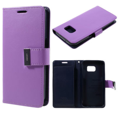 Samsung Galaxy S7 Suojakotelo Rich Diary Violetti