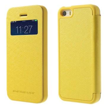 Apple iPhone 5 / 5s / SE Kuori Wow Bumper Keltainen