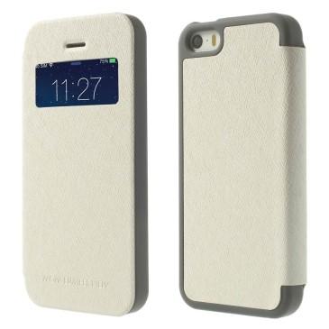 Apple iPhone 5 / 5s / SE Kuori Wow Bumper Valkoinen