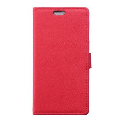 Huawei Y6 Pro Suojakotelo Punainen Lompakko