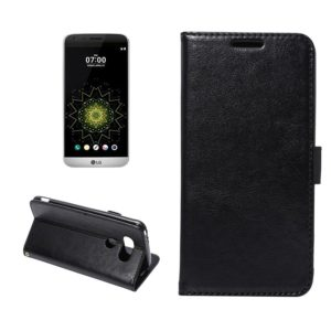 LG G5 H850 Lompakko Suojakotelo Musta