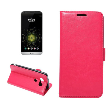 LG G5 H850 Lompakko Suojakotelo Pinkki