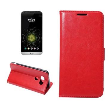 LG G5 H850 Lompakko Suojakotelo Punainen