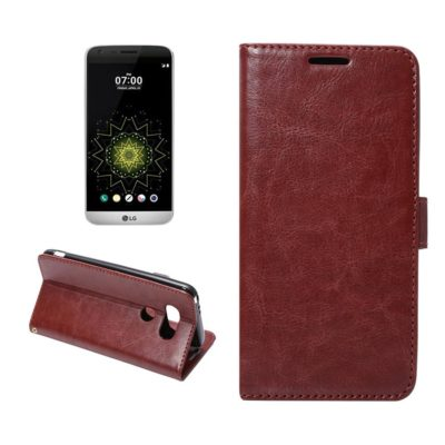 LG G5 H850 Lompakko Suojakotelo Ruskea