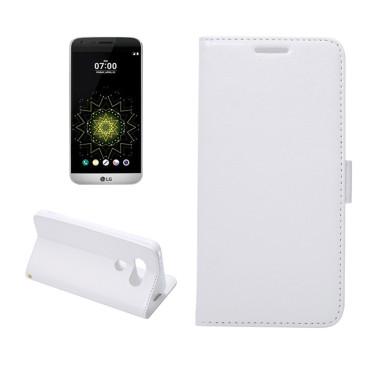 LG G5 H850 Lompakko Suojakotelo Valkoinen