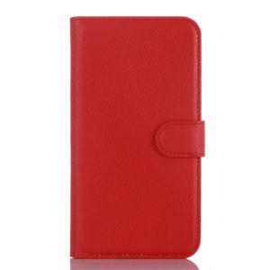 LG K10 4G Suojakotelo Punainen Lompakko