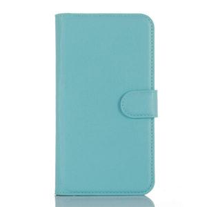 LG K10 4G Suojakotelo Sininen Lompakko