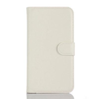 LG K10 4G Suojakotelo Valkoinen Lompakko