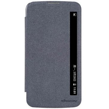 LG K10 4G Suojakuori Nillkin Sparkle Musta
