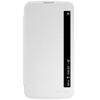 LG K10 4G Suojakuori Nillkin Sparkle Valkoinen