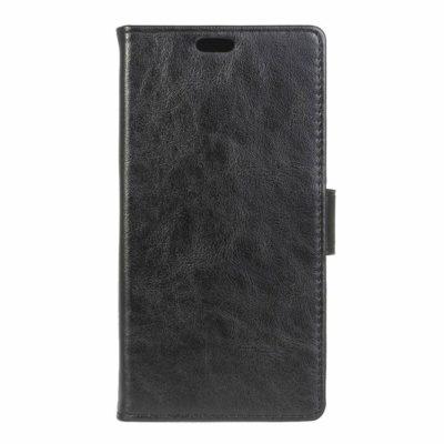 LG K4 4G Lompakko Suojakotelo Musta