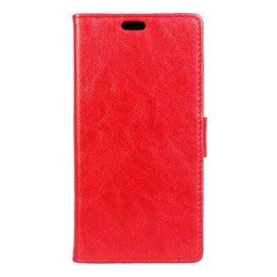 LG K4 4G Lompakko Suojakotelo Punainen