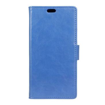 LG K4 4G Lompakko Suojakotelo Sininen