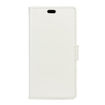 LG K4 4G Lompakko Suojakotelo Valkoinen