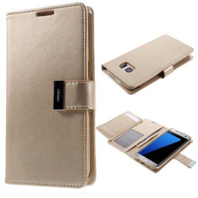 Samsung Galaxy S7 Edge Kotelo Kulta Rich Diary