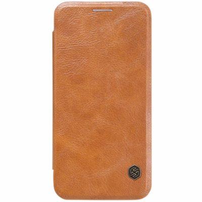 Samsung Galaxy S7 Kotelo Nillkin Qin Ruskea