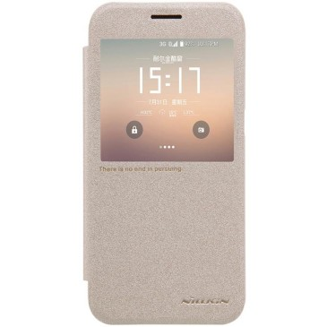 Samsung Galaxy S7 Kotelo Nillkin Sparkle Kulta