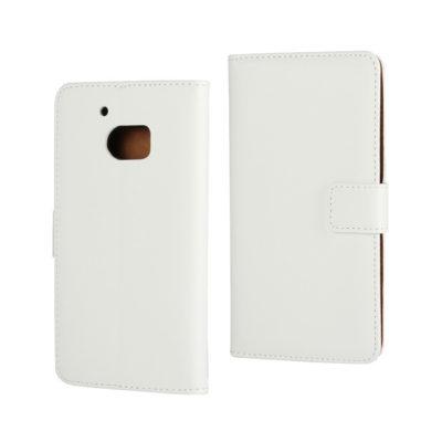 HTC 10 lompakkokotelo Valkoinen Nahka