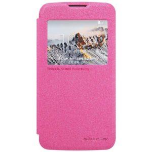 LG K4 4G Suojakuori Nillkin Sparkle Pinkki