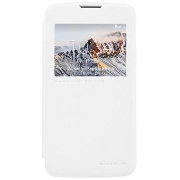 LG K4 4G Suojakuori Nillkin Sparkle Valkoinen