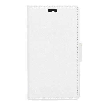 LG K8 4G Suojakotelo Lompakko Valkoinen